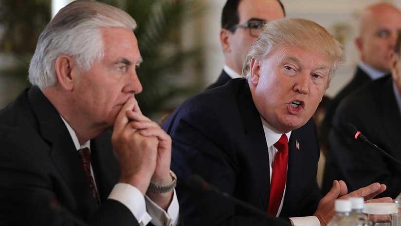 Trump obligó a Tillerson a comer una ensalada en mal estado durante su visita a China