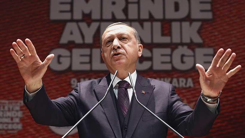 "Erdogan espera que el enclave kurdo de Afrín ""caiga para esta noche"""