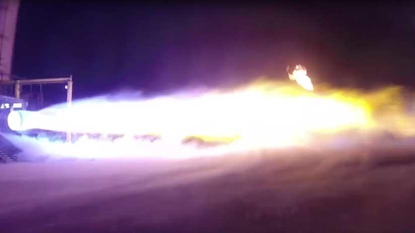 VIDEO: EE.UU. prueba de nuevo su motor de cohete BE-4