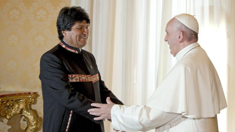 """Evo Morales quiere que la ONU o el Papa """"hagan seguimiento"""" del fallo sobre la demanda marítima"""