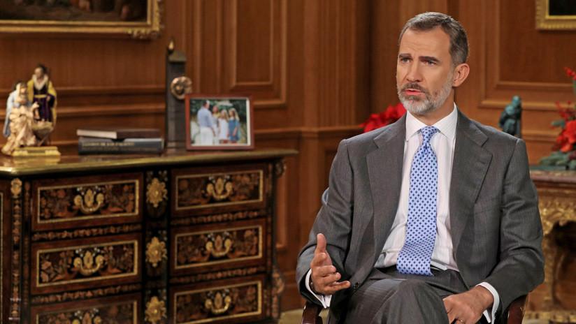 VIDEO: Queman fotos del rey de España para celebrar la sentencia de Estrasburgo