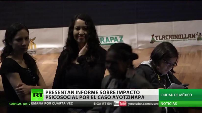 Presentan en México un informe sobre la repercusión psicosocial del caso Ayotzinapa