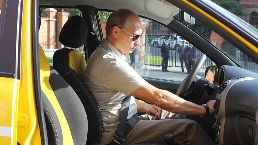 """""""No estoy bromeando"""": Putin pensó en hacerse taxista antes de trasladarse a Moscú"""