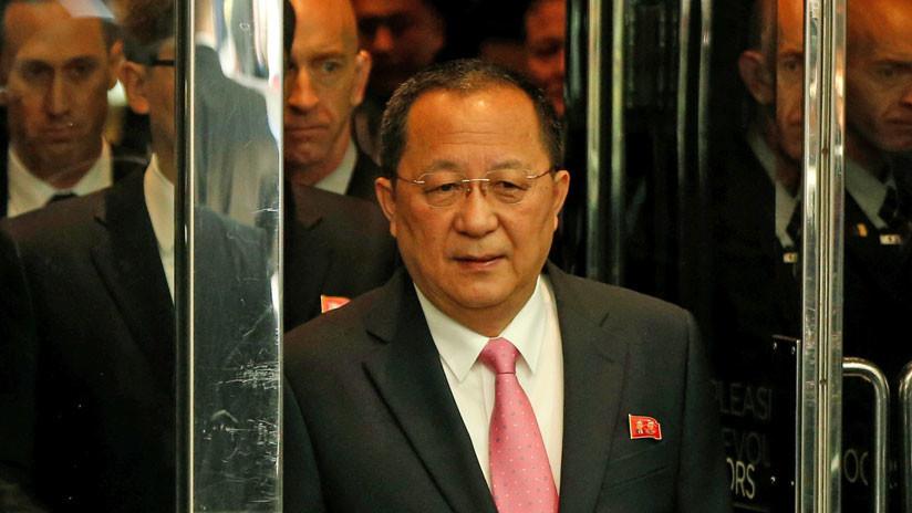 El canciller norcoreano visita Suecia, sede del posible encuentro entre Trump y Kim Jong-un