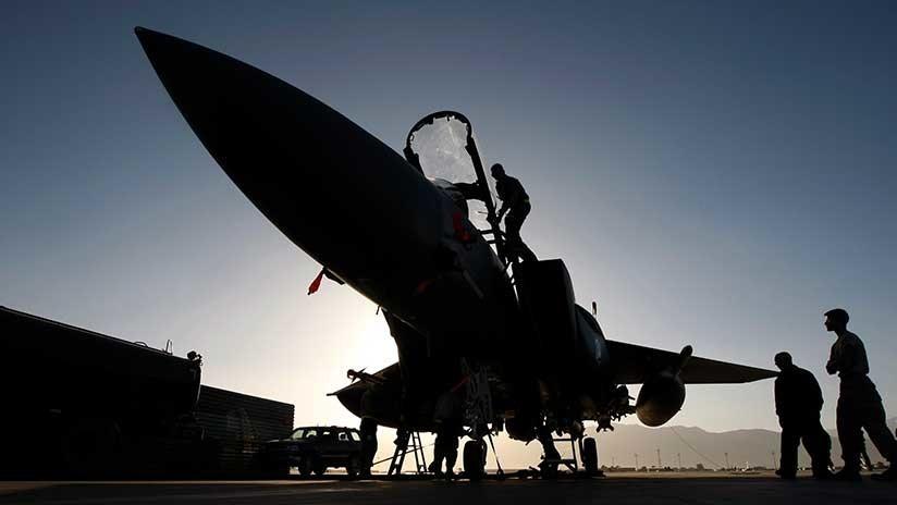 EE.UU. despliega aviones F-15 y 260 efectivos en Países Bajos