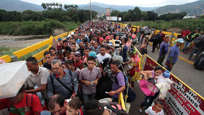 """La """"hipervisibilización"""" de la migración venezolana tiene un uso político"""