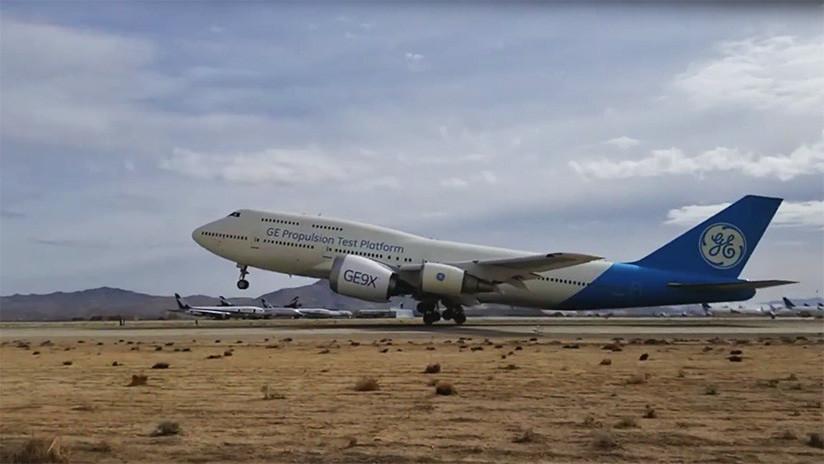 VIDEO: Completan la primera prueba de vuelo del motor más grande del mundo