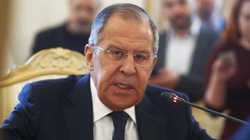 """Lavrov: """"Claro que Rusia expulsará a diplomáticos británicos"""""""