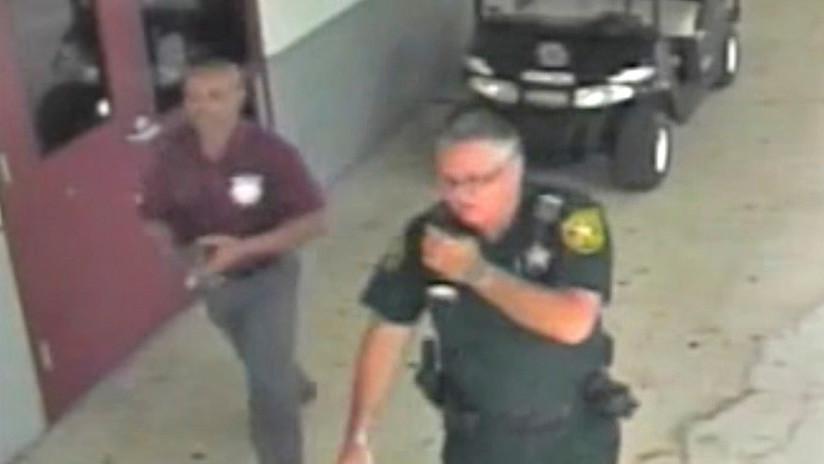 Un video del tiroteo de Florida pone en evidencia a un guardia armado que no actuó