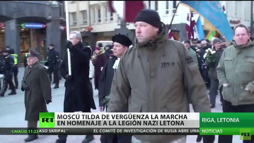 """""""Una vergüenza para Europa"""": Moscú condena el homenaje a una división nazi en Letonia"""