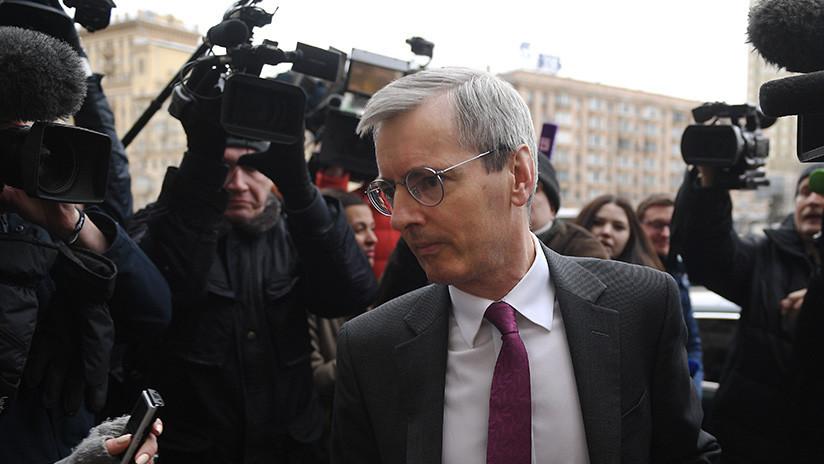 El Ministerio de Asuntos Exteriores de Rusia convoca al embajador de Reino Unido