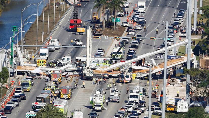 El ingeniero del puente de Florida reportó grietas dos días antes del fatal colapso