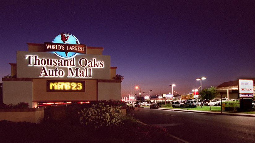 TIROTEO en centro comercial — California