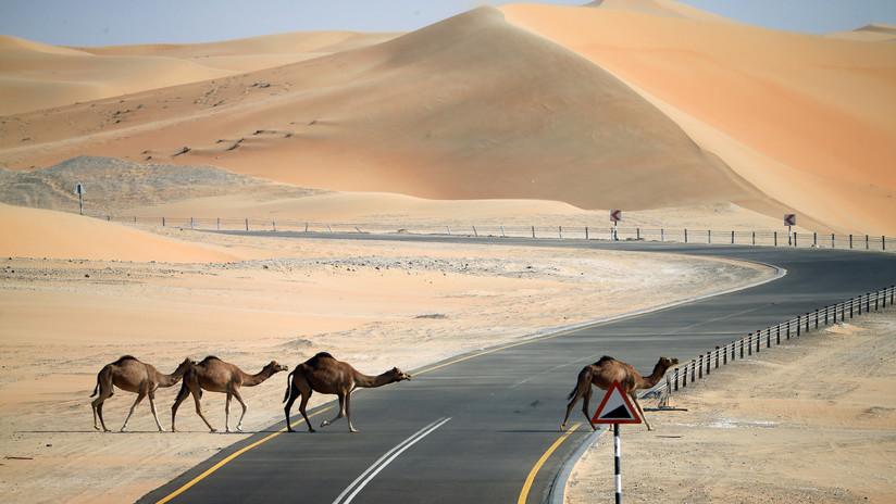 FOTOS: El gobernante de Dubái salva a turistas extranjeros atrapados en el desierto