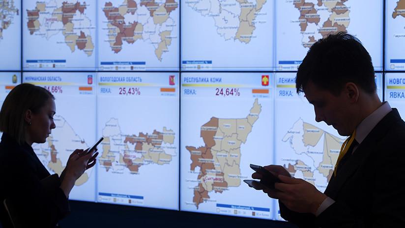 La Comisión Electoral rusa sufre ataques cibernéticos de 15 países el día de las elecciones