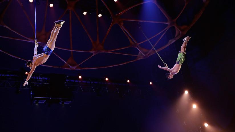 FUERTE VIDEO: Captan momento de la mortal caída de un acróbata del Cirque du Soleil