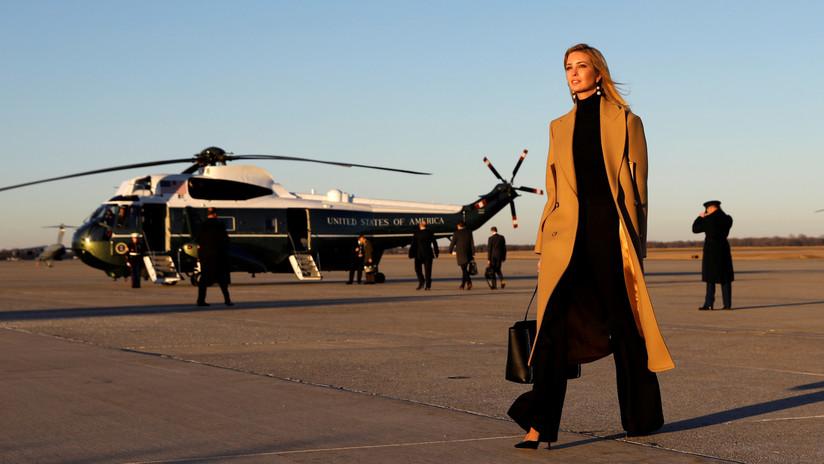 Un helicóptero que transportaba a Ivanka Trump y su esposo sufrió fallos en su motor en pleno vuelo