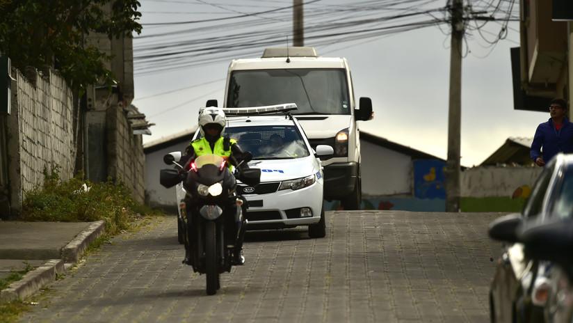 Mueren 11 personas en Ecuador a causa de un accidente de tráfico (FOTOS)