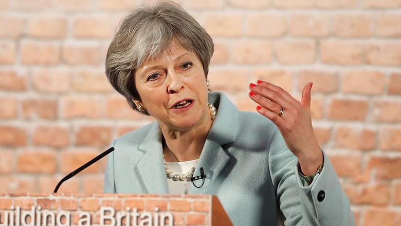 Moscú responde a la amenaza de Theresa May de que Londres podría dejar de comprar gas ruso