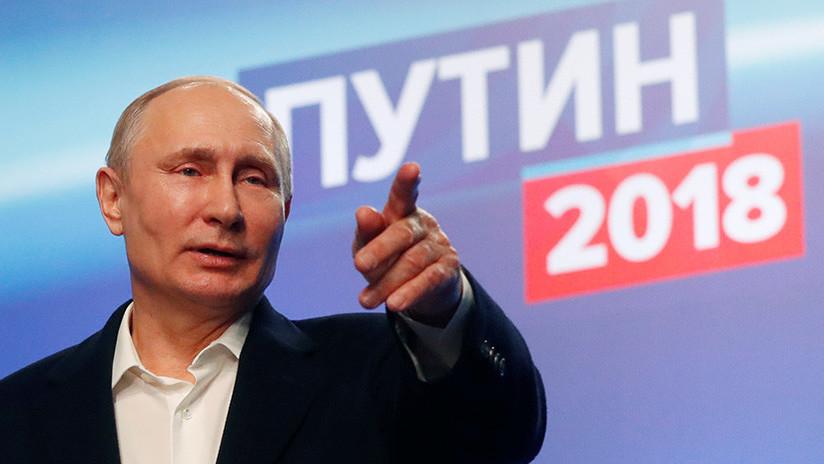 """""""La victoria electoral de Putin demuestra el fracaso de la política de aislamiento hacia Rusia"""""""