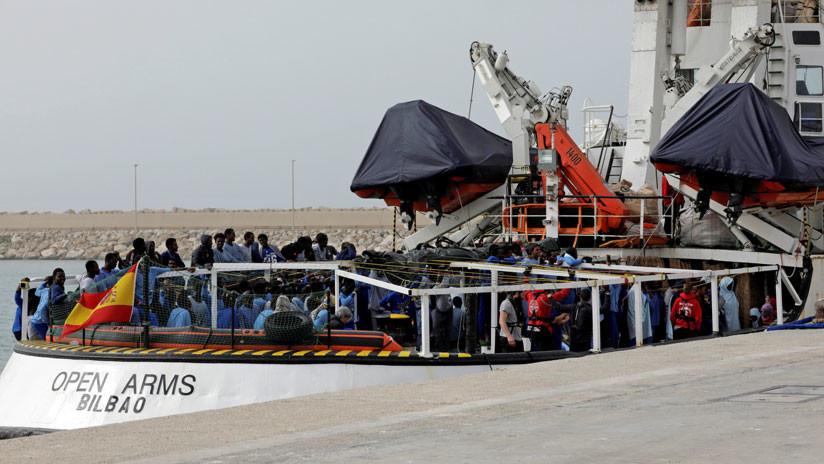 Italia mantiene retenido un barco español de una ONG que rescata migrantes en el Mediterráneo
