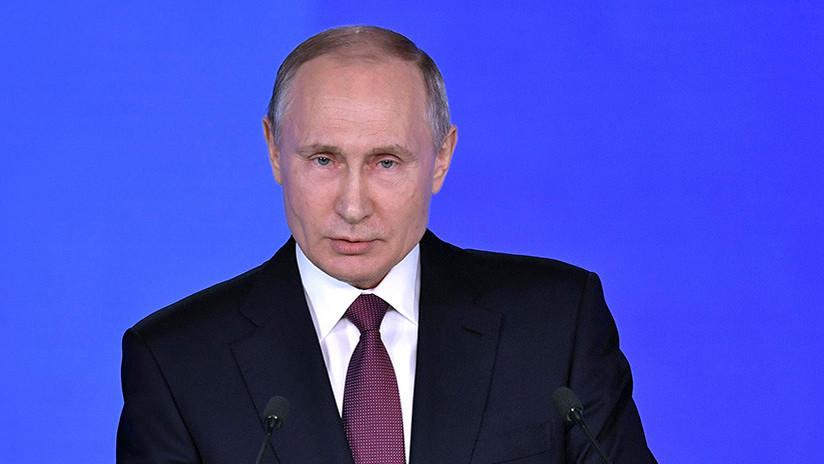 "Putin: ""Rusia no participará en ninguna carrera armamentística"""