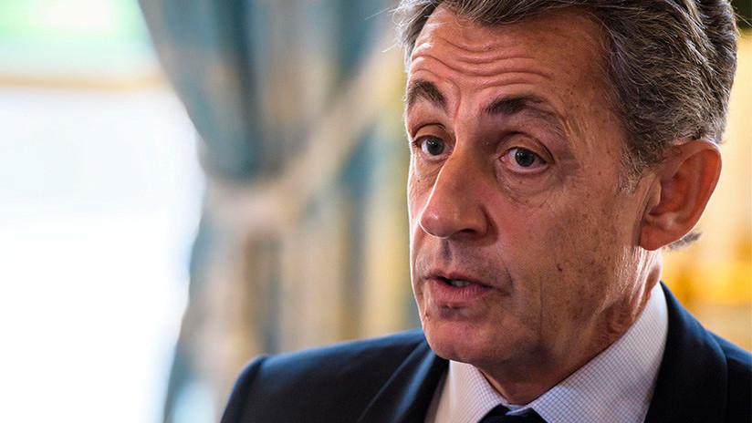 Detienen al expresidente francés Nicolás Sarkozy a raíz de la financiación de su campaña electoral