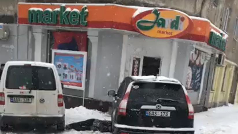 Al menos dos muertos en una explosión en un comercio de la capital de Moldavia