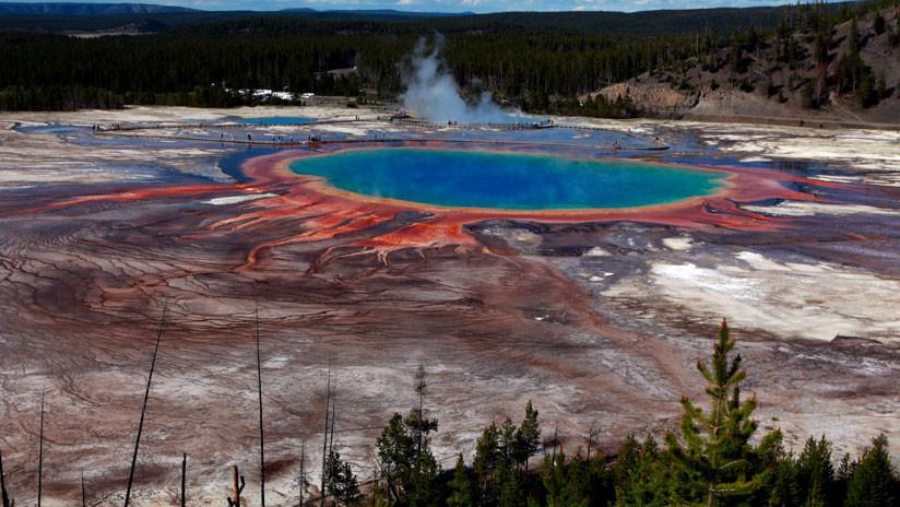 Hallan una zona anómala bajo Yellowstone