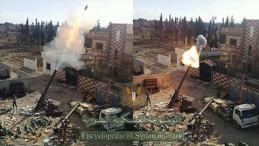 FOTOS: Los 'morteros monstruo' de la Guerra Fría 'renacen' en Siria
