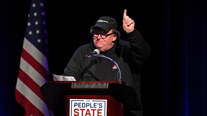 """""""Rusia, Rusia, Rusia"""": Michael Moore critica a los medios por usar a Rusia como distracción"""