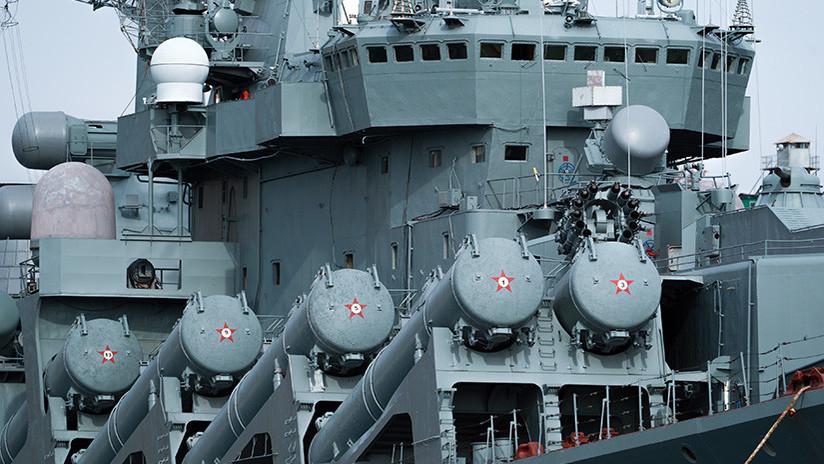 Rusia arma sus buques de guerra con nuevos misiles antisubmarinos