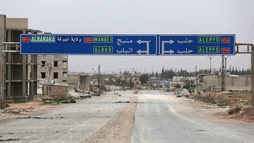 """""""No se ha llegado a un acuerdo"""": EE.UU. descarta un pacto con Turquía sobre Manbij en Siria"""