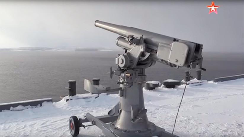 VIDEO: La Flota del Norte prueba el primer cañón antiaéreo de Rusia, fabricado en 1927