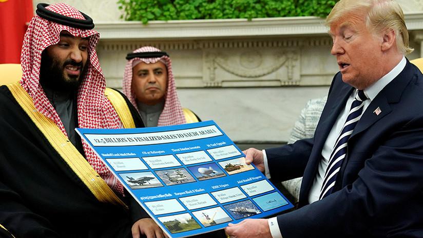 Trump se jacta de vender armas a Arabia Saudita por valor de 12.500 millones de dólares