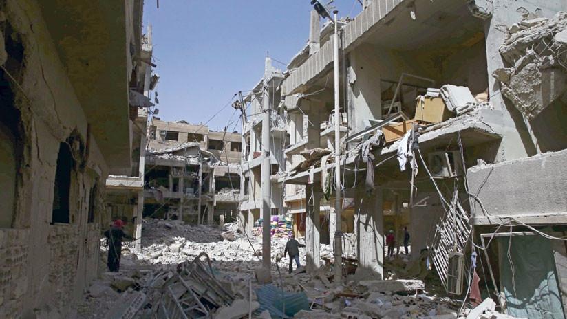 """""""Las armas químicas en Guta Oriental revelan unas puestas en escena con la ayuda de Londres"""""""