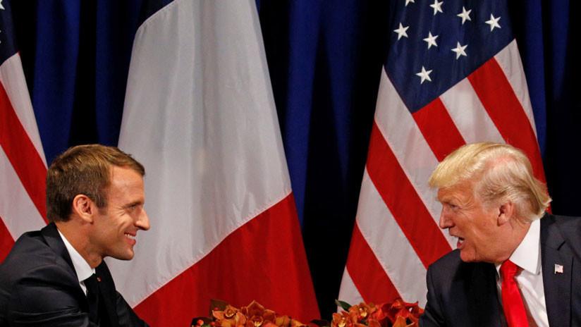 Trump y Macron acuerdan sancionar a Rusia por el caso Skripal