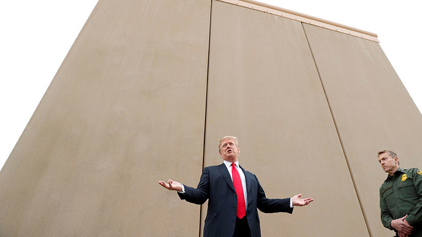 """""""El resto está por llegar"""": Congresistas acuerdan 1.600 millones de dólares para el muro con México"""