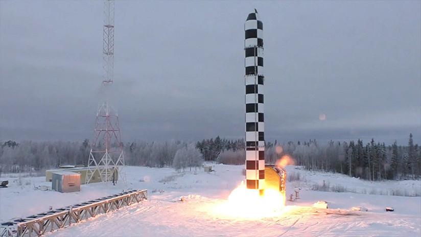 Rusia revela la forma de interceptar sus avanzados misiles intercontinentales Sarmat