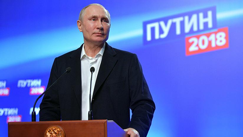 """Putin tras su reelección: """"Juntos lograremos el éxito"""""""