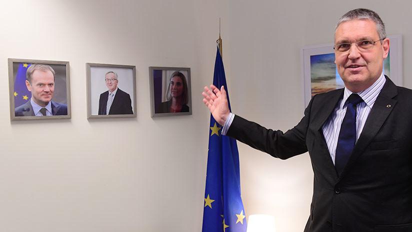 Los líderes de la Unión Europea deciden llamar a consultas a su embajador en Rusia