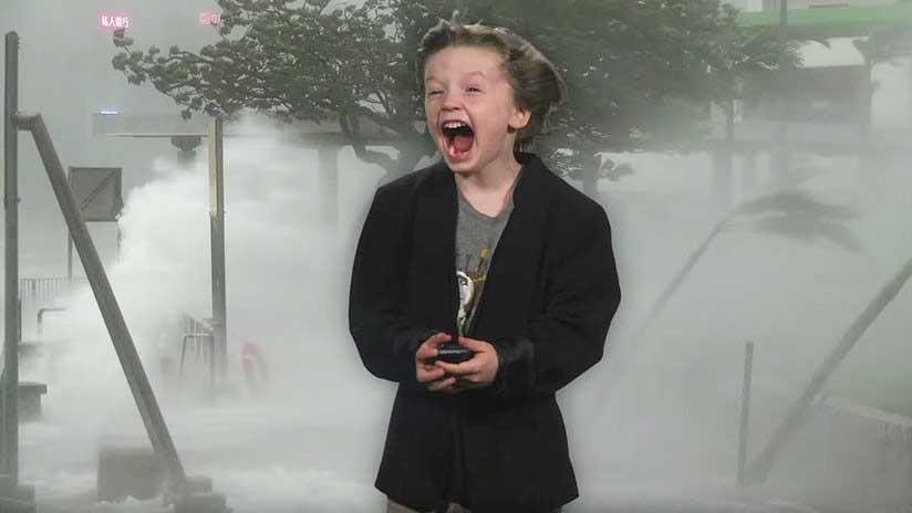 VIDEO: Un niño estadounidense graba un pronóstico del tiempo y lo invitan a la televisión
