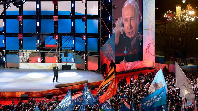 """""""La demonización occidental aumentó la popularidad de Putin en Rusia"""""""