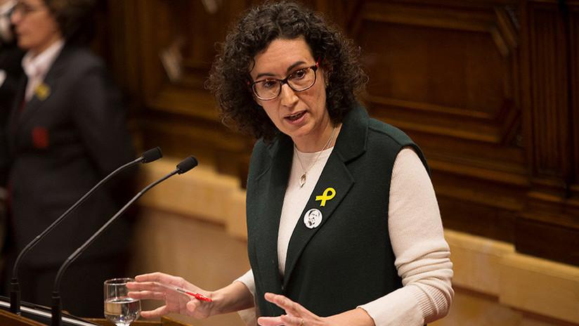 Cataluña: La líder independentista Marta Rovira no acude al Tribunal Supremo y abandona España