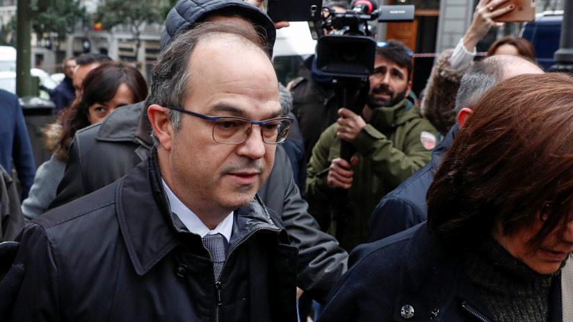 España: La Fiscalía pide prisión preventiva para Jordi Turull y otros cuatro políticos catalanes