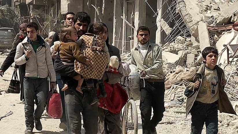 Más de 100.000 civiles han abandonado Guta Oriental desde el inicio de las pausas humanitarias