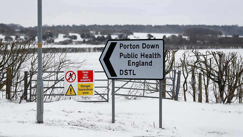 """Reino Unido básicamente confirmó que """"desarrolla agentes de guerra química"""""""