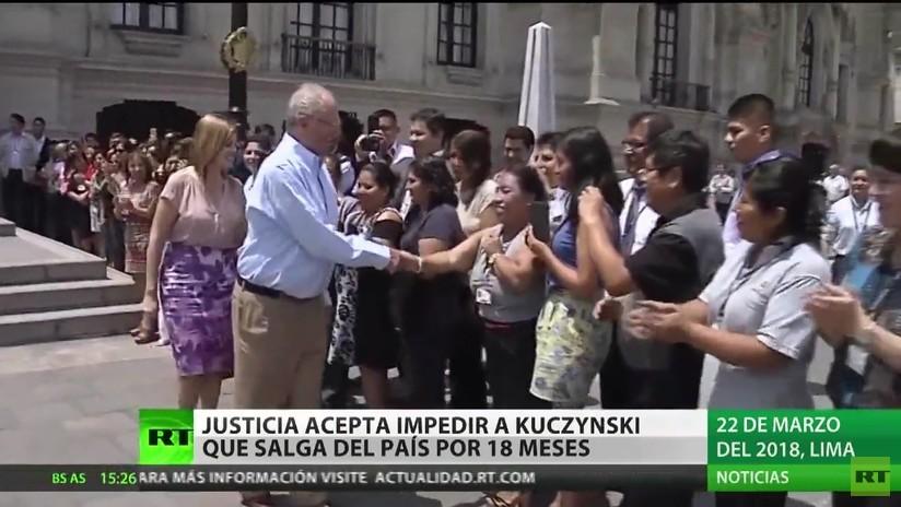 Perú: La justicia acepta impedir a Kuczynski que salga del país por 18 meses
