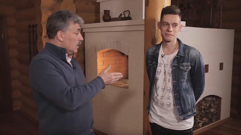 """""""Cumplí mi palabra"""": El candidato comunista ruso se afeita bigote por una apuesta electoral (VIDEO)"""