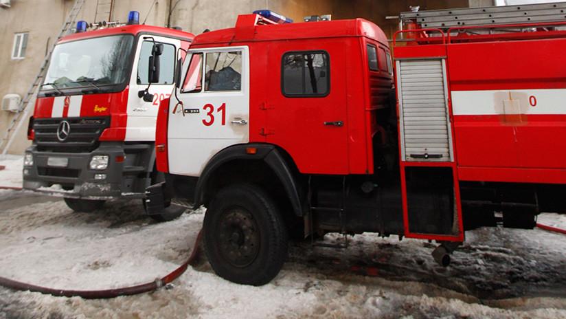 Cuatro muertos tras un incendio en un centro comercial de la ciudad rusa de Kémerovo 5ab77ce508f3d9245e8b4567